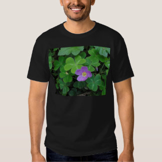 Miscellaneous - Sorrel & Purple Flower Pattern Tshirt