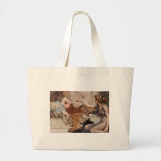 Mischief and Anonymous - Godward,  1895 Jumbo Tote Bag