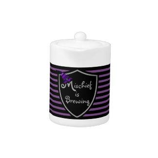 """""""Mischief is Brewing"""" Halloween Purple"""