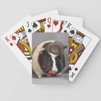 Mischievous Guinea Pig Playing Cards