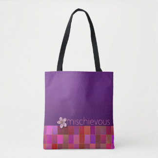 MISCHIEVOUS - Purple, Pink, Teal - Handbag