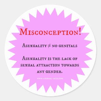 Misconception Sticker