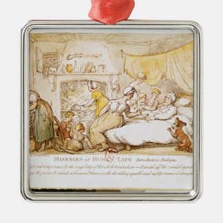 Miseries of Human Life: Introductory Dialogue Christmas Ornament