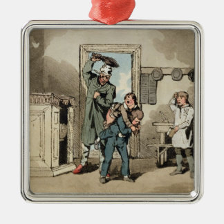 Misery, 1807 (etching) christmas ornament