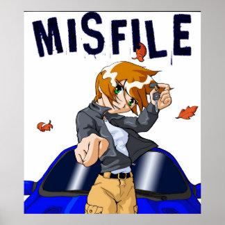 Misfile Challenge Poster
