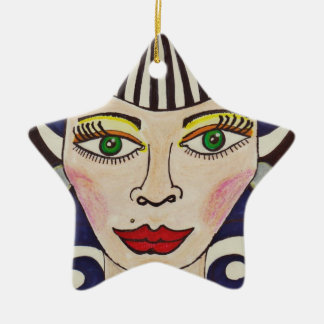 """Misfit Doll"" Christmas Ornament"