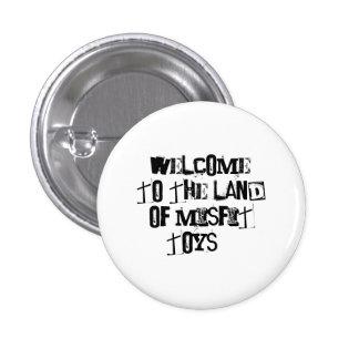 Misfit Toys 3 Cm Round Badge