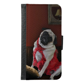 Misha, pug lingerie model, waiting for you. samsung galaxy s6 wallet case