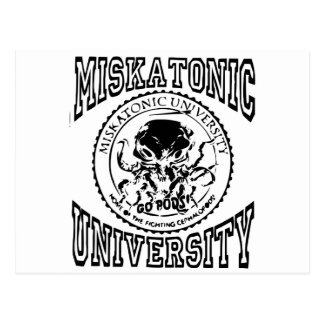 miskatonic postcard