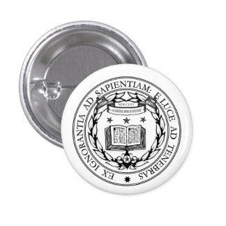 Miskatonic Seal 3 Cm Round Badge