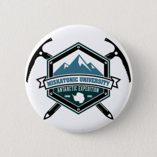 Miskatonic University Antarctic Expedition 6 Cm Round Badge
