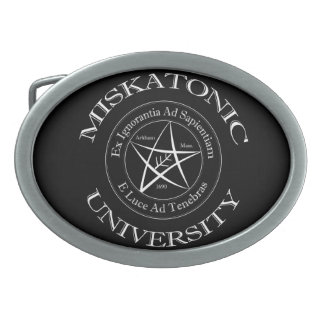 Miskatonic University Belt Buckle