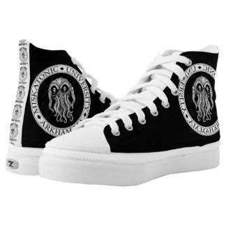 Miskatonic University CTHULHU HP LOVECRAFT Shoes Printed Shoes