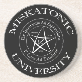 Miskatonic University Sandstone Coaster