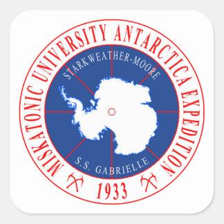 Miskatonic University Second Antarctic Expedition Square Sticker