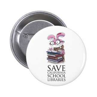Miskit - Save California School Libraries Buttons