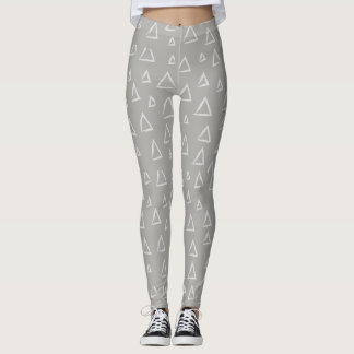 Mismatched Triangle Leggings