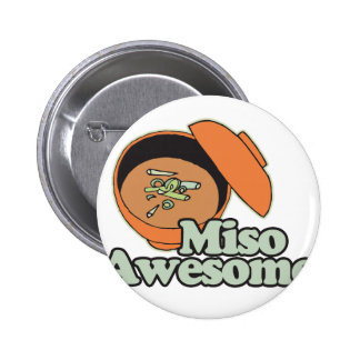 Miso Awesome 6 Cm Round Badge