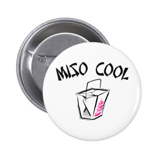 Miso Cool 6 Cm Round Badge