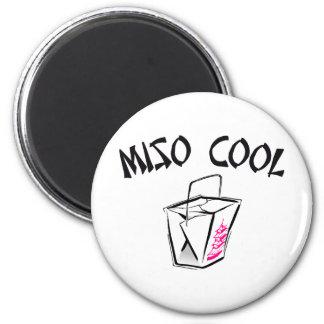 Miso Cool 6 Cm Round Magnet