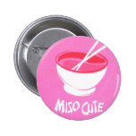 Miso Cute 6 Cm Round Badge