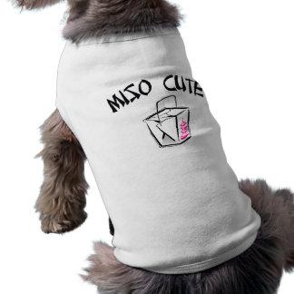 Miso Cute Sleeveless Dog Shirt