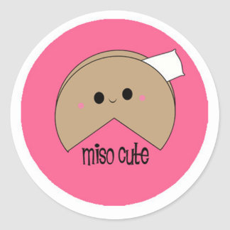 Miso Cute Stickers