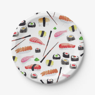 Miso Hungry 7 Inch Paper Plate