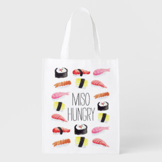 Miso Hungry Reusable Grocery Bag