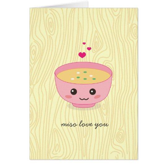 Miso Love You Card