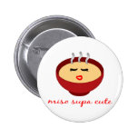 Miso Supa Cute Ladies / Girls Product Design 6 Cm Round Badge
