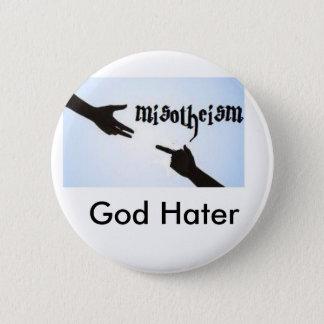 Misotheism 6 Cm Round Badge
