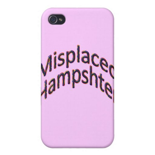 Misplaced Hampshter colful hill iPhone 4 Cover