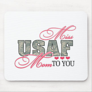 Miss Air Force Mom Mouse Pad