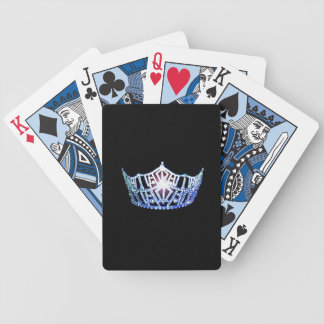 Miss America Blue Crown Playing Cards
