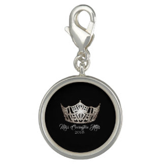 Miss America Crown SP Charm-Custom Name