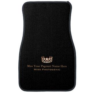 Miss America Custom Name Special Awards Car Mat
