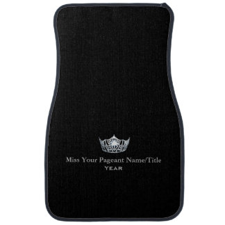 Miss America Custom Name & Year Car Mat