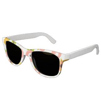 Miss America Floral Print Sunglasses