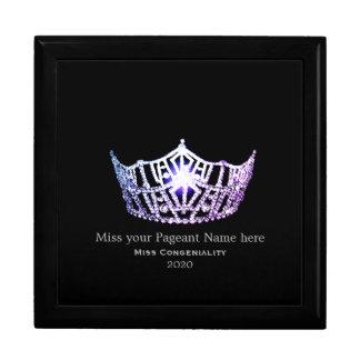 Miss America Lilac Crown Awards Jewelry Box