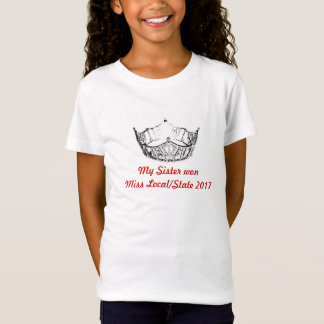 Miss America My Sister WonTop for Girls T-Shirt