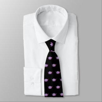 Miss America Pink Crown Men's Tie