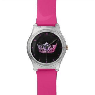 Miss America Pink Crown Watch-Pink Watch