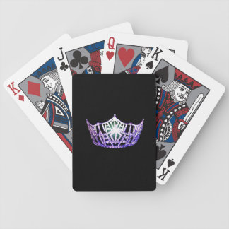 Miss America Purple Crown Playing Cards