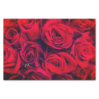 Miss America Red Roses Tissue Paper