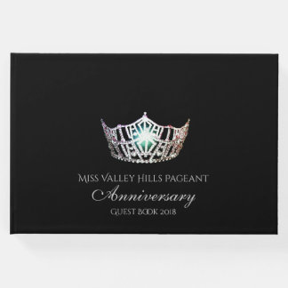 Miss America Silver Crown Anniversary Guest Book