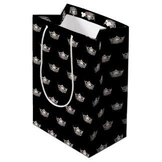 Miss America Silver Crown Gift Bag