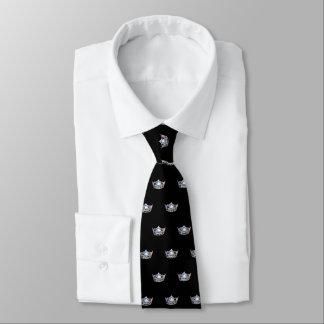 Miss America Silver Crown Men's Tie