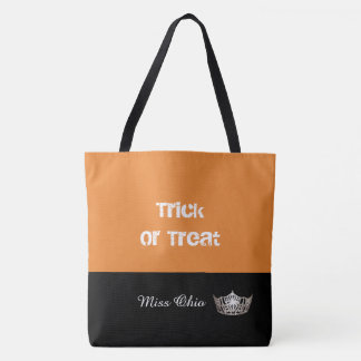 Miss America Silver Crown Trick or Treat Tote Bag