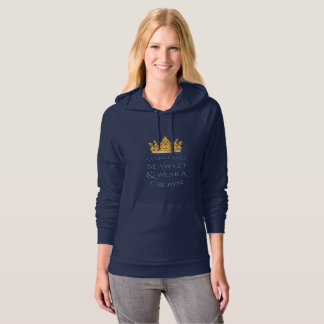 Miss America Stand Tall Pineapple Hoody